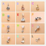 NEW! Perfect logo Charm Engraved Family Heritage Dangles Silver S925 ales charms DIY charms bracelets <b>jewelries</b> <b>making</b>,1pz