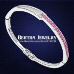 European Style Bracelet Pulseras Bangles Crystals from Swarovski Cristal Bijoux Armbanden En Armbanden Charm <b>Jewelry</b>