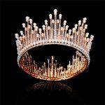 Bride Tiara Crown Queen King Princess Diadem Prom Bridal Wedding Headdress Tiaras and Crowns Hair <b>Jewelry</b> Accessories