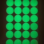 Glowing In The Dark Round Epoxy Stickers Cabochon <b>Native</b> <b>American</b> beadwork 1″ 25.4mm