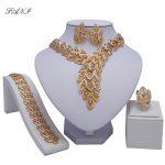 Fani Bridal Gift Nigerian Woman Wedding African Beads <b>Jewelry</b> Set Brand Dubai Gold Colorful <b>Jewelry</b> Sets Wholesale design