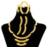 Hot Sales High Quality 24 Gold <b>Jewelry</b> Sets Dubai Bride <b>Necklace</b> Bracelet Charm Women Earrings Accessories <b>Jewelry</b> Gifts