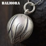 BALMORA 990 Pure Silver Lotus Bud Pendants <b>Accessories</b> for Women Mother Gift Vintage Thai Silver <b>Jewelry</b> Without a Chain SY13843