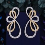 GODKI 67mm Luxury Trendy Fly Butterfly Design Full Mirco Paved Crystal Zircon Naija <b>Wedding</b> Drop Earring Fashion <b>Jewelry</b>