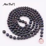 [MeiBaPJ]New fashion 135cm long AAAA high quality natural pearl choker <b>necklace</b> for women black <b>necklace</b> best gift