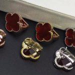 Brand Fashion <b>Wedding</b> <b>Jewelry</b> For Women Flower Earrings 925 sterling silver Clover Stud Earring Silver Needle Earrings
