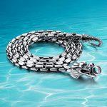 925 sterling Thai <b>silver</b> <b>necklace</b> thick 5mm brand long <b>silver</b> chain. free shipping punk men dragon <b>necklace</b>,men chain