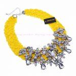 Fashion Resin Beed Acrylic <b>Jewelry</b> Chian <b>Handmade</b> Choker Statement Bib Necklace