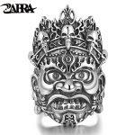 ZABRA Authentic Soild 925 <b>Silver</b> 36mm Opening Religion Buddhist Big Ring for Men Vintage Steampunk Biker Men <b>Sterling</b> <b>Jewelry</b>