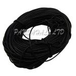 100m/Bundle Black 3mm Round Cowhide Leather Cord For Craft <b>Jewelry</b> <b>Making</b> Findings String DIY Bracelets Necklaces Wholesale