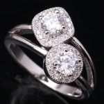 <b>Handmade</b> White Cubic zirconia 925 Sterling Silver Fashion Women's <b>Jewelry</b> Rings US# Size 6 7 8 9 S1481