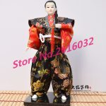 30cm Samurai Japanese humanoid Doll Restaurant <b>supplies</b> gift <b>jewelry</b> ornaments Home Furnishing Restaurant #3609