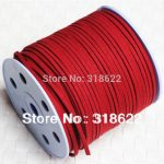 8colors 90yards/roll 2.7mmx1.5mm Faux Suede Cord, Imitation Leather Cords,Wire/Line,Bracelet <b>Jewelry</b> <b>Making</b> Findings Free Ship