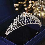 Micro Paved Cubic Zircon Tiara Phoenix Full Zirconia Crown <b>Wedding</b> Hair Accessories Bridal <b>Jewelry</b> CZ Coroa Novia WIGO1260