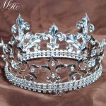 Kids Crowns Imperial Medieval Silver King Children's Tiaras Wedding Pageant Prom Party Costumes Headband Hair <b>Jewelry</b>