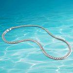 new fashion men's sterling <b>silver</b> long <b>necklace</b>,men's 925 sterling <b>silver</b> jewelry, genuine solid <b>silver</b> Pendants <b>necklace</b> men