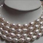 Fashion style 7-10mm AAA freshwater pearl beads <b>making</b> necklace <b>jewelry</b> YE2098