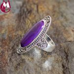 100% 925 Sterling Silver Ring Thailand <b>Handmade</b> Natural Stone Personality Finger Ring Female Engagement Gemstone <b>Jewelry</b> SR26