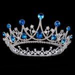 Bride tiara <b>Wedding</b> Crown Headdress for Women Headband Princess crowns and tiaras hair <b>Jewelry</b> Prom Queen Diadem Pageant Crown