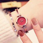 KIMIO Rectangle <b>Bracelet</b> Woman's Watch Ladies Stainless Steel Watches Luxury Brand <b>Silver</b> Plated Dress Quartz Watch Women 2018