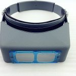 <b>Jewelry</b> Tools Double Lens Headmounted Headband Reading Magnifier Head Wearing Magnifying Glass Loupe 4 Magnifications
