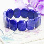 Accessories Lapis lazuli Ellipse Hand Chain Bracelet Crafts Beads Stone <b>Jewelry</b> <b>Making</b> 18cm 13x18mm Wholesale Stones Balls Gifts