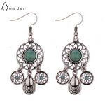 Amader <b>American</b> <b>Native</b> Dreamcatcher Earrings Women Black/Blue Stone Vintage Drop Ethnic Tribal Earrings Fashion <b>Jewelry</b> HQE195