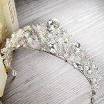 High Quality Tiara Crown Wedding Hair Accessories Bride Hair <b>Jewelry</b> Bridal coroa de noiva diadem Women head piece coronas HG270