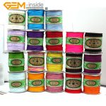 Gem-inside 130 Meters Nylon Handcraft Braid Rattail Cord Chinese Knotti Selectable Color <b>Fashion</b> <b>Jewelry</b> Findings