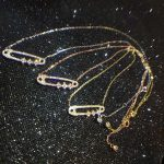 Designer Fashion 925 Sterling Silver <b>Jewelry</b> 3A Cubic Zirconia Party <b>Necklace</b>