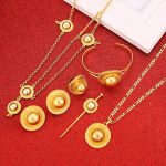 Luxury Ethiopian Fashion Women Eritrean Traditional <b>Jewelry</b> Set <b>Wedding</b> Hair <b>Jewelry</b> Set