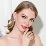 MeiBaPJ 2018 European and American New Style Pearl Set Luxurious Real Pearl Earrings & Ring Party Wedding Fine <b>Jewelry</b> Sets