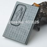 Natural <b>Handmade</b> 100% Real HeTian Yu Carved GuanGong Heart Sutra Lucky Amulet Pendants Necklace Fashion Man's <b>Jewelry</b>