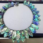 20*30-20*50 mm Paua Abalone Shell <b>Necklace</b> free shipment