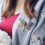 eManco Green Cute Animal & Insect Dragonfly Brooches Pins for Women Blue Crystal Brooch Clothing <b>Accessories</b> Fashion <b>Jewelry</b>