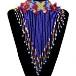 Boho Colorful Resin Beads Tassels Fashion Statement Necklace Bell Rope Metal Sheet Choker Necklace Charm <b>Jewelry</b> Women <b>Accessory</b>
