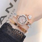 Luxury Women Watches! WomenDiamond <b>Bracelet</b> Watch Female Rose Gold <b>Silver</b> Dress Watch Lady Rhinestone Bangle Watch Wristwatches