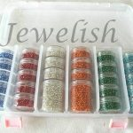 2MM Mixed Color Glass Seed Beads, DIY <b>Jewelry</b> <b>Making</b> Bead Sets with Storage Box, 2mm in diameter, hole: 0.6mm, 590g/set