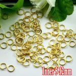 500G/PIECE Wholesale Gold Plated IRON Based 5/6/8/10/12mm Opening Split Ring Accessories for <b>Jewelry</b> <b>Making</b>