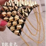 Men and women <b>accessories</b> fashion blazer epaulette tassel rivet punk escapulario medals shoulder <b>jewelry</b> brooches corsages for