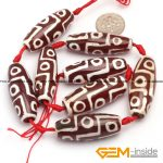 12x37mm olivary rice shape vintage dzi beads tibet agat 8 Pcs fashion stone beads loose beads for <b>jewelry</b> <b>making</b> free shipping