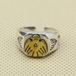Vintage Indian Style Thunder Bird Cuff Ring Men In 100% Solid 925 Sterling Silver <b>Handmade</b> Indian Style <b>Jewelry</b> Top Fashion