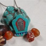<b>Handmade</b> 925 Silver Nepalese Tibetan Necklace Tibetan Buddhist Klachakra Pendant Necklace Bohemia <b>Jewelry</b>