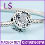 2018 Spring New Real 925 <b>Silver</b> Enchanted Nature Charms Fit Original Bracelets&<b>Necklace</b> DIY Gift.Women Wedding Jewelry Beads.N