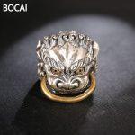 925 sterling silver ring <b>jewelry</b> sector T retro personality animal opening ring man <b>handmade</b> silver <b>jewelry</b> wholesale