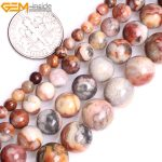 """Gem-inside 4-10mm 15"""" Natural Round Yellow Crazy Lace Agates Onyx Beads For <b>Jewelry</b> <b>Making</b> Beads DIY Beads Bracelets For Women"""
