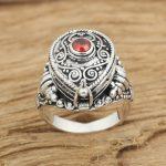S925 factory wholesale silver <b>jewelry</b> <b>handmade</b> Thai silver retro ring ring box gawu female personality