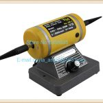 220V Adjustable Speed Grinding & Polishing Machine Included Two Buffing Wheel,<b>Jewelry</b> Making <b>Supplies</b> Polishing Motor