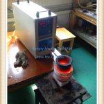 <b>Jewelry</b> <b>Making</b> Equipment High Frequency 220V 15KW 2 kg Gold Metal Induction Mini Melting Furnace