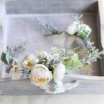 Jonnafe Woodland Handmade Flower Bridal Headband Hair Wreath Wedding Accessories Flower Girl Headwear Women <b>Jewelry</b>
